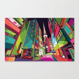 Tokyo Street Canvas Print