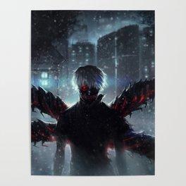 Ken Kaneki Tokyo Ghoul Poster