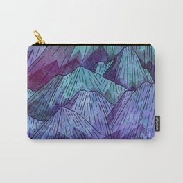 Sunset Sky Mounts Carry-All Pouch