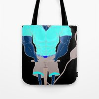 muscle Tote Bags featuring Muscle Pump  by nightfrost4