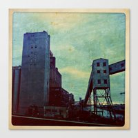 montreal Canvas Prints featuring Montreal by Jean-François Dupuis
