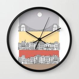 CLIFTON SUN Wall Clock