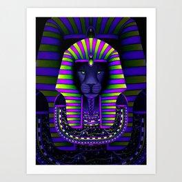 KING Vibez Art Print