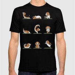 Beagle Yoga T-shirt