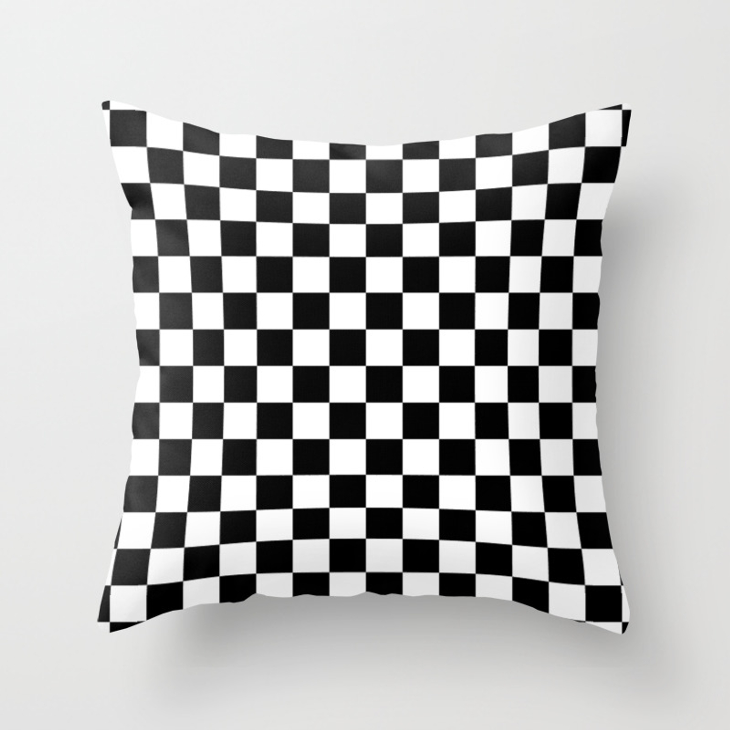 Checkered Flag Throw Pillow By Mobii Society6
