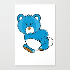 Missing Bear Canvas Print
