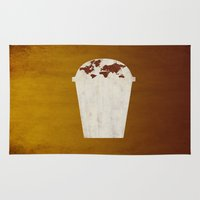 coffee Area & Throw Rugs featuring Coffee by gunberk