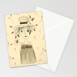 Betty Lou In Wheat Stationery Cards