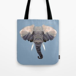 E is for Elephant Tote Bag