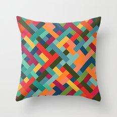 Weave Pattern Throw Pillow