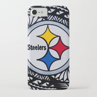 steelers iPhone & iPod Cases featuring Steelers Poly Style by Lonica Photography & Poly Designs