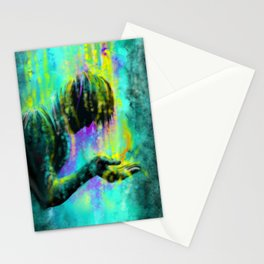 The oil from heaven Stationery Cards