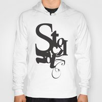 stockholm Hoodies featuring Stockholm by Nils Gustafsson