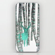 Turquoise Stag iPhone & iPod Skin