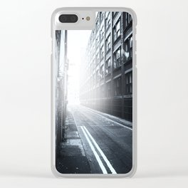 Inner City Blues Clear iPhone Case