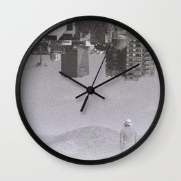 dreamer's nightmare Wall Clock