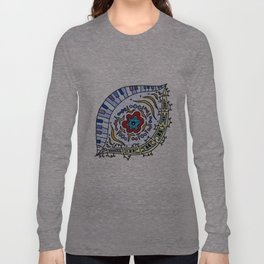 Pop Eye (Red) Long Sleeve T-shirt