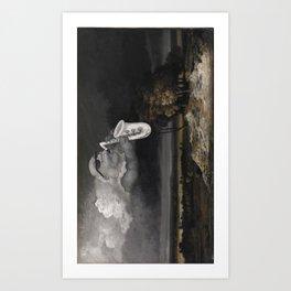Bleeding Gums Storm Art Print