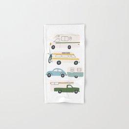 Vintage RV Motorhome Trailers Campers Hand & Bath Towel