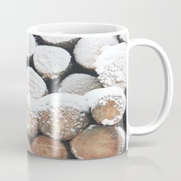 Snow logs Coffee Mug