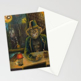 Lester Dines At The Mai Kai Stationery Cards