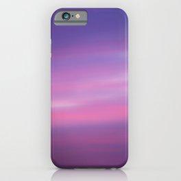 Purple Lavender Sky iPhone Case