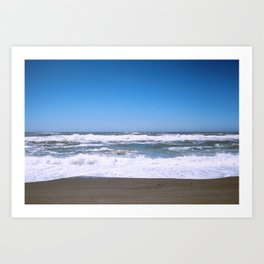 The Waves Art Print