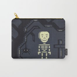 Skeleton boy artwork Carry-All Pouch