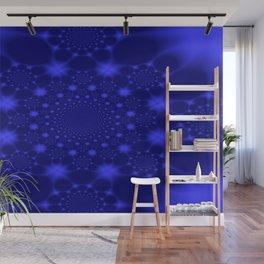 Dazzling Blue Wall Mural