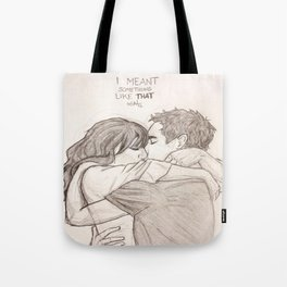 Nick and Jess Tote Bag