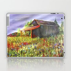 peace and poppies Laptop & iPad Skin