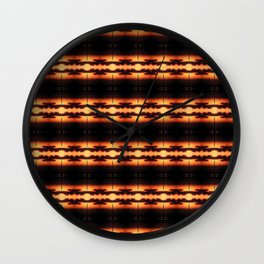 NightRays Wall Clock