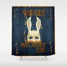 Rapture Masquerade Ball 1959 Shower Curtain