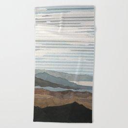 Salton Sea Landscape Beach Towel