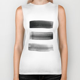 Three Brushes Biker Tank