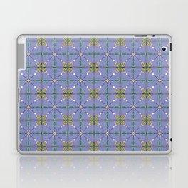 Floral tile surface Laptop & iPad Skin