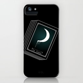 Luna Tarot Card iPhone Case
