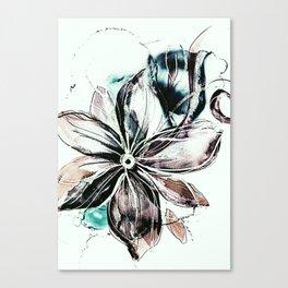 b floral Canvas Print