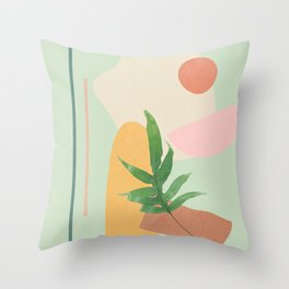 Partially Abstract 3 Throw Pillow