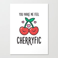 Cherryfic! Canvas Print