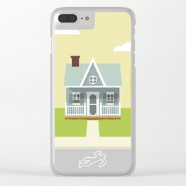 This land is your land Clear iPhone Case
