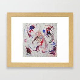 Keep Running Framed Art Print