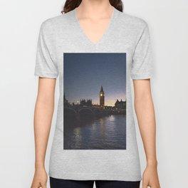 London, England 57 Unisex V-Neck