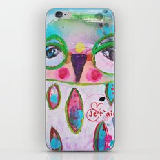 Je t´aime chouette iPhone & iPod Skin