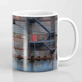 Steel Yard Train Track Bridge Coffee Mug