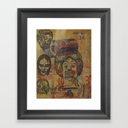 Big Time Framed Art Print