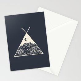 feel the outdoors Stationery Cards