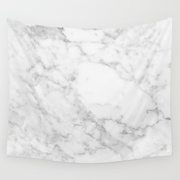 White Marble Edition 2 Wall Tapestry By Kaeting Society6