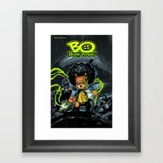 Bo Plushy Gangsta issue #3 cover poster regular Framed Art Print