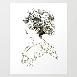 victorian creampuff  Art Print